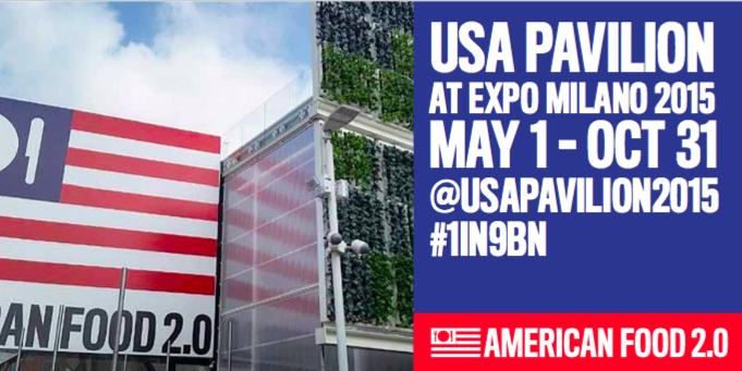 #Expo2015 is officially underway! We are proud to be participating in @USAPavilion2015. http://t.co/4JVcY6mKT9