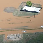 Aerial views of the flooding across the South Plains. Seagraves was hit hard. http://t.co/hdRUw7ycJk http://t.co/nAvcLur4Ar