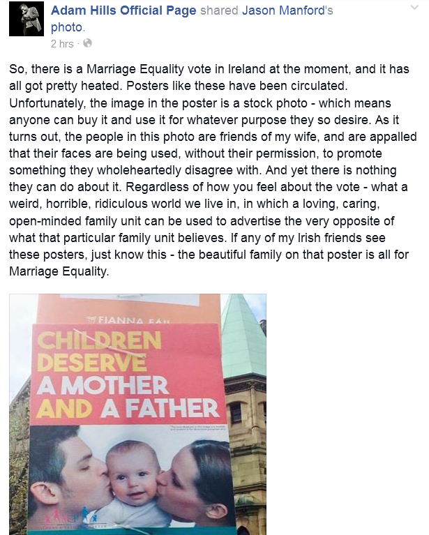 So the faces saying No to Marriage Equality in Ireland are actually saying Yes  #MarRef http://t.co/14kddcn1JA