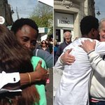 Filthy HIV-ridden Nigerian immigrant offers hugs to public as he urges them not to vote Ukip. http://t.co/q6xpmUEy2X http://t.co/lXNohYYKlM
