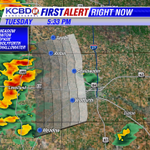 Storms developing west of Lubbock near Levelland. Movement is NE and may impact Lubbock within the hour. http://t.co/0IPMZYMG9S