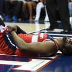THIS JUST IN: John Wall is ruled out for Game 2 tonight vs Hawks with wrist injury. http://t.co/eUQXFzGoZI