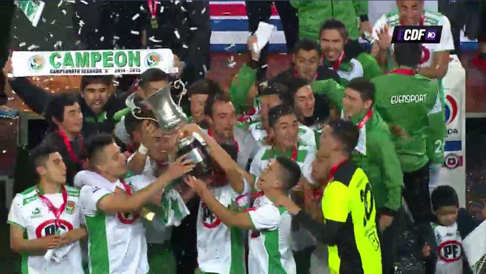 ¡Felicitamos a Dep Puerto Montt que se corona campeón de la Segunda División y vuelve  a la Primera B! http://t.co/19EPdc4HbX