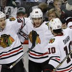 Gather around with some buddies, the third period is about to start. #CHIvsMIN #Blackhawks http://t.co/XF2VvOCjfR