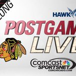 Dont forget to tune into CSN for Blackhawks Postgame Live after tonights White Sox coverage! #HawksTalk http://t.co/LkZFLTytd0