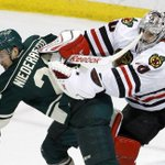 FINAL: #Blackhawks 1, Wild 0. Hawks 1 win from third straight conference final. Instant story: http://t.co/gx05PQ53wS http://t.co/Noht8ucQVB