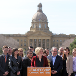 Congratulations on your historic victory, @RachelNotley. Inspired by the hopeful, optimistic campaign you ran. http://t.co/9c00TXMAYZ