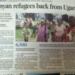 07/08 PEV victims who fled to Uganda from Kenya have been repatriated via @dailynation http://t.co/yVQjvZEGe4