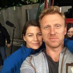 The one and only @EllenPompeo #1123 @GreysABC BTS selfie http://t.co/sOsn91fGVQ