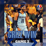 Memphis WINS game 2! The Grizzlies beat the Warriors, 97-90 to even up the series at 1-1. http://t.co/EjlKM30loV