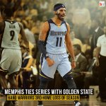 Splash Bros shoot just 3-for-16 from deep as Warriors fall to Memphis 97-90. Conley scored 22 in his 1st game back http://t.co/bklqkvKhP6
