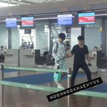 150506 Yesung at Incheon Airport to Jakarta http://t.co/WOQchuaNoi
