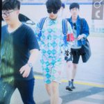 [PIC] 150506 Incheon Airport to Jakarta - Stylish Yesung wearing shades and earphone! ???? [4P] (Cr:@dulcetwoon) http://t.co/g2qZlxgazK