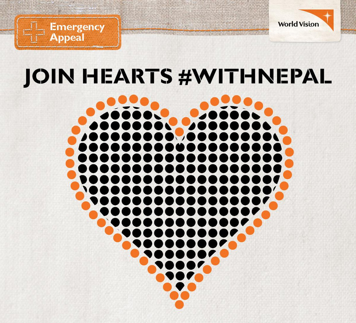 In #Sydney? Join @WorldVisionAus to create a heart made of people & stand #WithNepal at Customs House tomorrow 8-9am http://t.co/UWj0FXJtP0