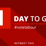 #VoteToriesOut as Tomorrow you can vote for a Labour government, and kick David Cameron out of No 10. RT if you Like http://t.co/L4v4kofnEr""