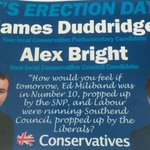Awkward. Conservative election leaflet urges people to vote on Erection Day http://t.co/yvFQVZy9Mz http://t.co/uBxOhBPnj5