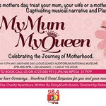 Wondering what to do this Mothers Day?Watch #MyMumMyQueen on 10that Louis Leakey Auditorium. Buy your tickets now! http://t.co/K6W2VsybqK