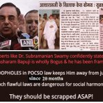 @newsflicks Scrap flawful POCSO law as its misused for vindictive purpose against innocents #Bail_बापूजीका_अधिकार http://t.co/tcfMcAQolQ