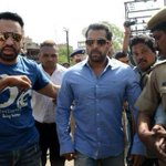 UPDATE: Salman Khan has been sentenced to five years in jail for culpable homicide. http://t.co/hcqHMpYZQ3 http://t.co/Dw5f9mAXuO