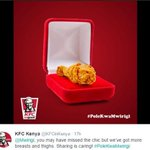 Kenyan corporates join in the funniest trend after blogger gets engaged http://t.co/SavAqHwigk #PoleKwaMwirigi http://t.co/Po4cCoJD88