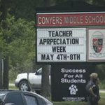 Security tightened at Conyers Middle after student allegedly fired gun in school bathroom. #fox5atl @GoodDayAtlanta http://t.co/w8psgaR04F