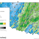 """Check out our 24 hr rain totals...Norman is the #winner with nearly 4"""" of rain! WOW! No wonder we had flooding! 8:27a http://t.co/dm8kCu0dny"""