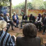 John Kerry meets Kenyan civil society activists, impressed by their energy and power http://t.co/GeRlbNjemD http://t.co/yeKZVB1cDh