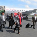 @AMB_a_Mohammed arriving at Bujumbura International Airport to attend EAC Foreign Ministers meeting on Burundi crisis http://t.co/OCpIgTtDX0