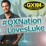 Win tickets to see Luke Bryan tonight! RT or declare your love for Luke with the hashtag #QXNationLovesLuke! http://t.co/CgOaXTSKbT