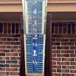 "@kfor @4WarnStormTeam Just over 2"" Hefner/Council. More rain today-Sunday. #supersoaker #okwx http://t.co/sjAXDJVtLT"
