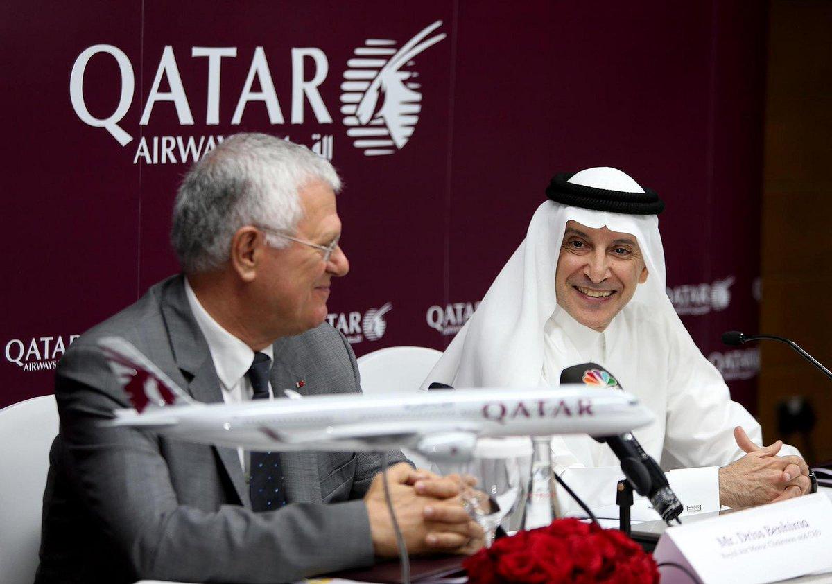 الخطوط_الجوية_القطرية والخطوط الملكية المغربية تعلنان عن شراكة استراتيجية بينهم�