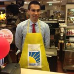 Little by little, we can do A LOT for families.. #McHappyDay with an @IssuesInk staff @HitenSh10 behind the counter http://t.co/c3mhfl77KC
