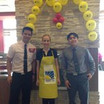 Aproned up at @McD_Canada outside @StVitalCentre. Come and support childrens charities! #McHappyDay http://t.co/cq54qruXFR