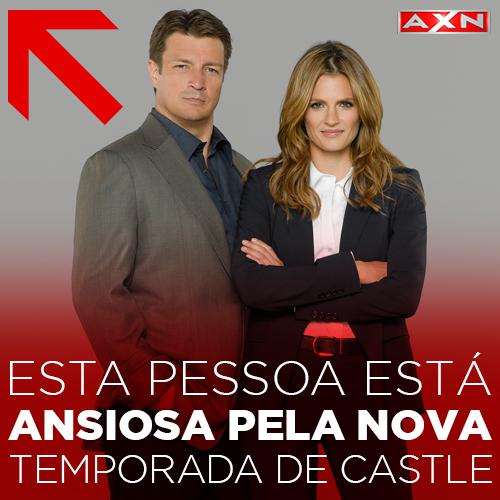 Anote na agenda e nas paredes da casa: #CastleAXN volta Segunda, dia 25 de Maio, às 22h! ;) http://t.co/ngi3Xg7r69