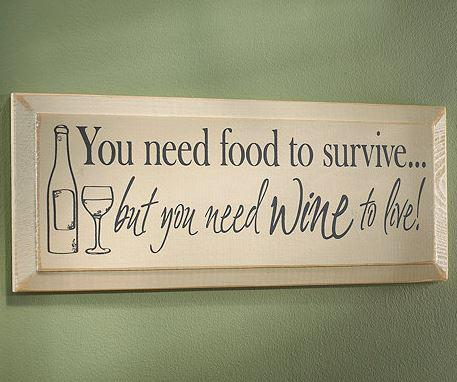 This sign says it all! Get yours here: http://t.co/WjyrPMpa3s Happy #WineWednesday! http://t.co/CDLx22F5Ph