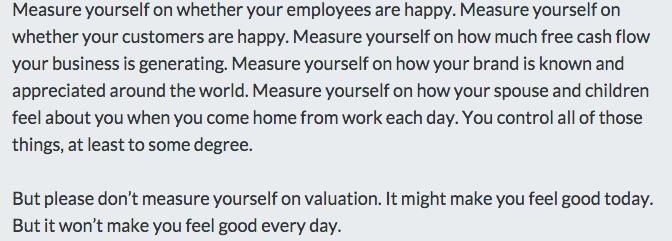 Valuation As A Scorecard http://t.co/XFmiOnVAS4 by @fredwilson http://t.co/6725u0B7mf