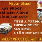 लालू,जयललिता,तेजपाल,और अब सलमान को भी बेल,Asaram Bapu Ji को अब तक जेल,क्यों? #Bail4SalmanNot4Saints http://t.co/6vQQGoqE4U