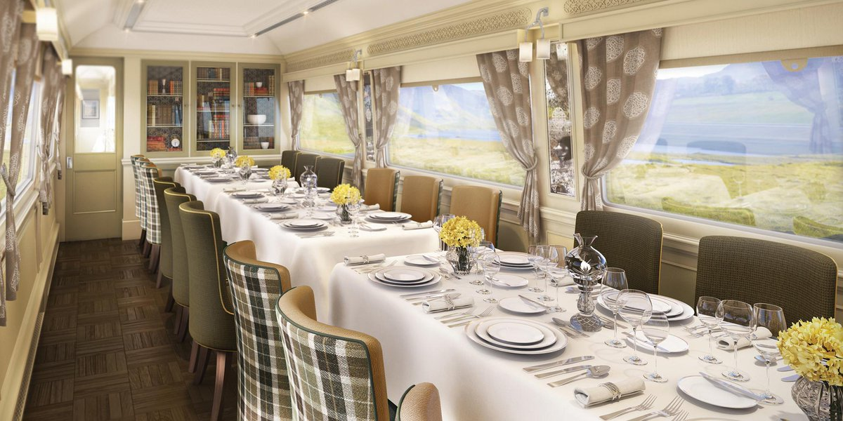 Now accepting reservations: @Belmond's new luxury train in Ireland: