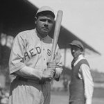 On this date 100 years ago, Red Sox pitcher Babe Ruth hit his first career home run in a game against the Yankees. http://t.co/ol3MEXo4gG
