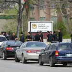 Garden City Collegiate students, staff wear black for 2 gr 12 students committed suicide w/i days of ea other #cbcmb http://t.co/A4nexg35rl