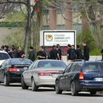 Students at Garden City Collegiate are wearing black today as they mourn the loss of two of their classmates. #cbcmb http://t.co/16P6TNTssw