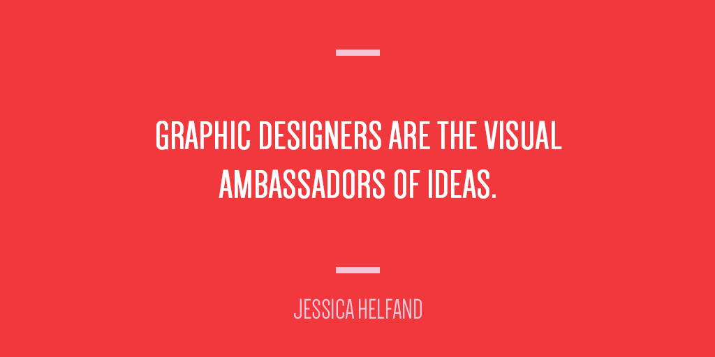 .@jessicahelfand on why designers' matter. #MOOatHOW #HOWlive http://t.co/s33RiwKI99