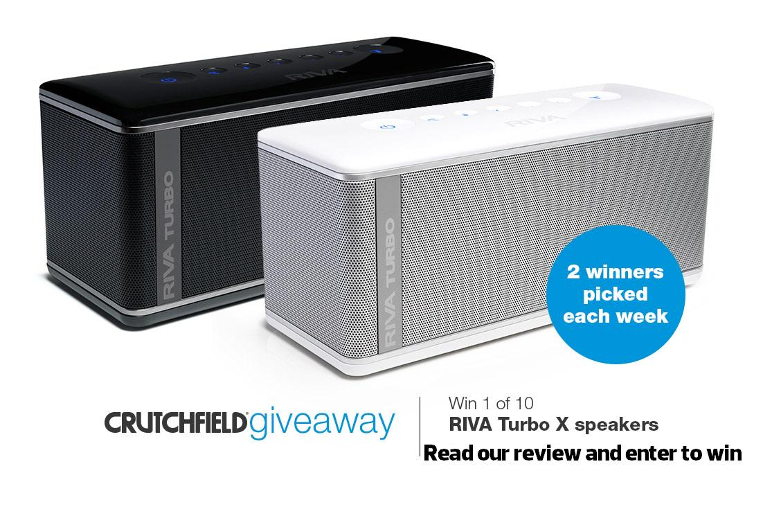 Read Dave's review & enter to win 1 of 10 @rivaaudio TurboX BT speakers (retail $350 each): http://t.co/h5F9Pahg3V http://t.co/oXS8VwqLiW