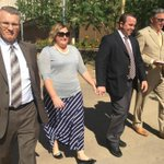 The Hughes leaving court after new Green Acre indictment Do they look remorseful to you? #12News #Gilbert23 http://t.co/tik8RVtDUx
