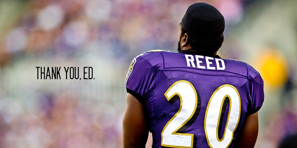 After 12 years, Ed Reed is officially retiring: http://t.co/QJyaoBbl2U  You quarterbacks can finally rest easy. http://t.co/TmWxkXKn70