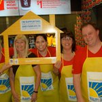 The Canstar Community News sales team worked McHappy Day at McDonalds at 847 Leila today. @chadtaylor77 #McHappyDay http://t.co/yWvRaCDiF7