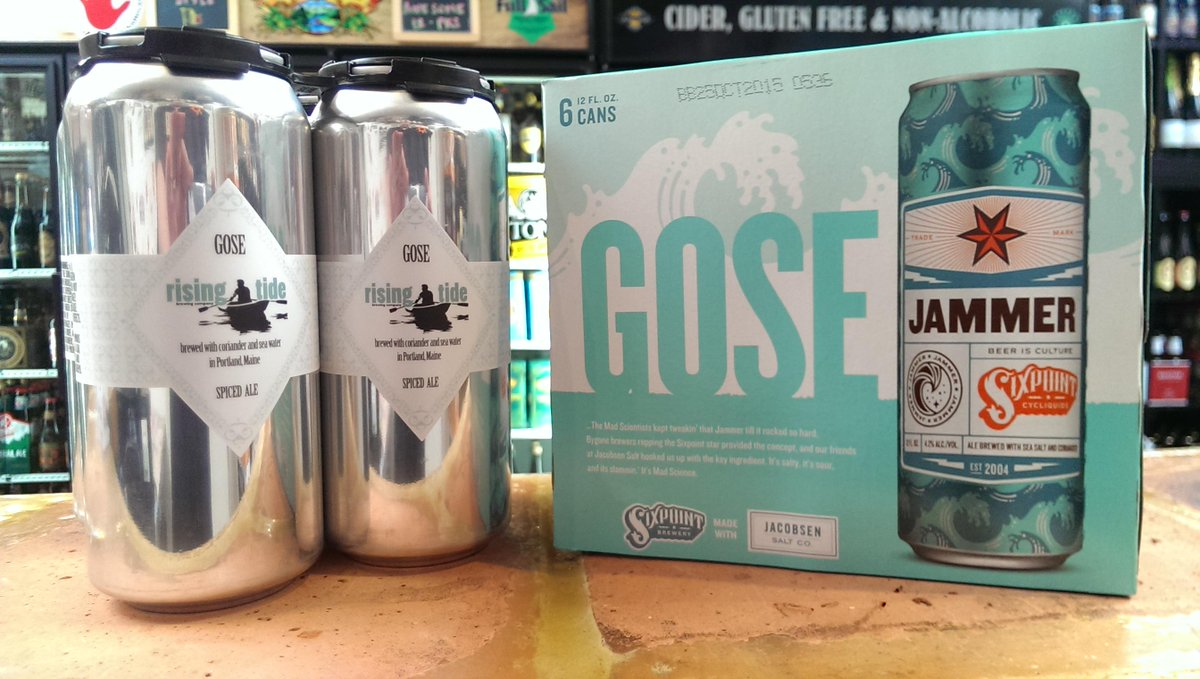 Pop Gose the can! Just in from @risingtidebeer and @sixpoint #CBCDeliveryday http://t.co/Z2FZCHeLja
