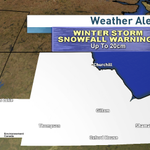 Not much change here. Snowfall and Winter Storm warnings in place for much of the north. #cbcmb #stormy http://t.co/eImfQ0aff6