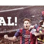 #FCBFCB ¡¡¡GOOOOOOOL DEL BARÇAAAAA!!! ¡¡¡REPITE MEEEEESSIIIIII!!! #FCBlive http://t.co/ph3gqJPs4P