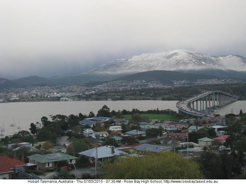 Anyone for a spot of skiing? #Hobart #snowbart http://t.co/yyXEBTHMTy